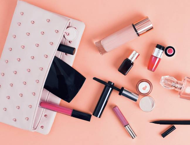 Time to give your makeup bag a clear-out (Credit: Shutterstock)