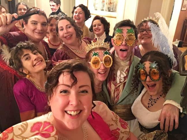 JAPAS embraces both Regency pastimes and modern day fun (Credit: Sophie Andrews)