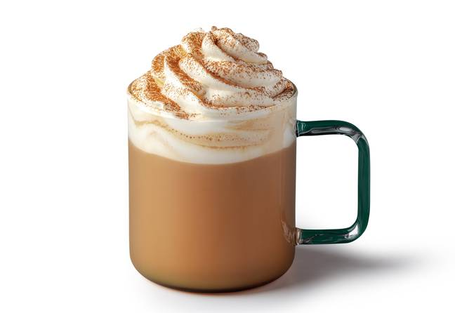 Starbucks has launched vegan whipped cream for its pumpkin spice lattes (Credit: Starbucks)