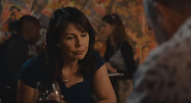 Julie Graham also stars as Rosalie Douglas (Credit: Channel 5)