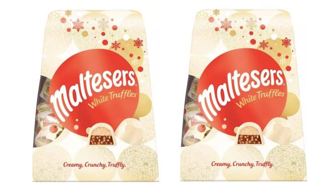 The new advent calendar will feature milk and white chocolate (Credit: Mars)