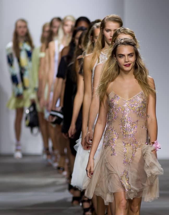 Models like Cara Delevingne have walked for Topshop (Credit: PA)