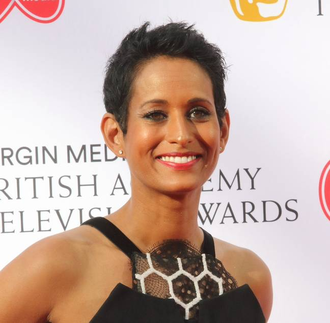 Naga Munchetty spoke about her own painful experience of having an IUD fitted (Credit: PA)