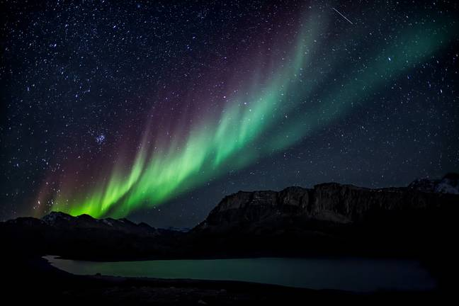 Northern lights pictured in Greenland (Credit: Pexels)