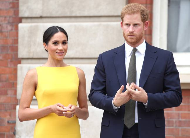 Harry and Meghan have released a statement following the news of Prince Philip's passing (Credit: PA)