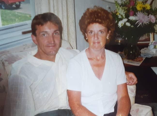 Nicola also lost her dad to advanced bladder cancer (Credit: Kennedy)