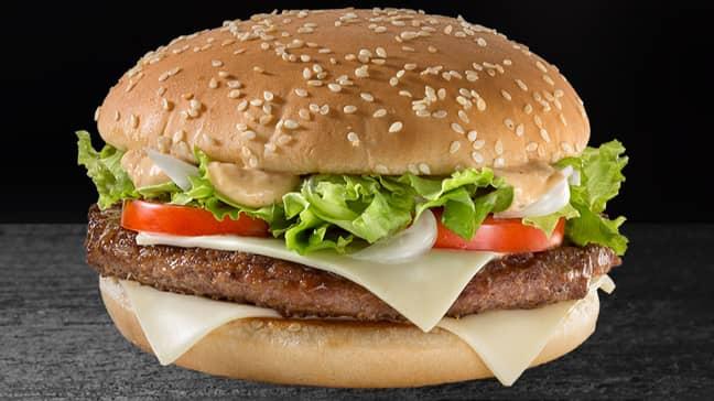 McDonald's Is Bringing Back The Big Tasty This Week (Credit: McDonalds)