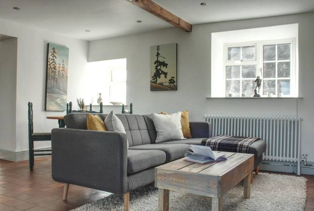 Interior images show the work that Katherine and Ryan have done on the luxury property (Credit: SWNS)