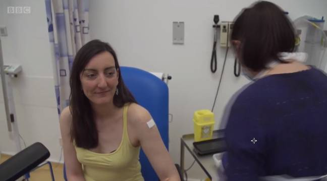 The vaccine will be rolled out to more patients over the coming days (Credit: BBC)