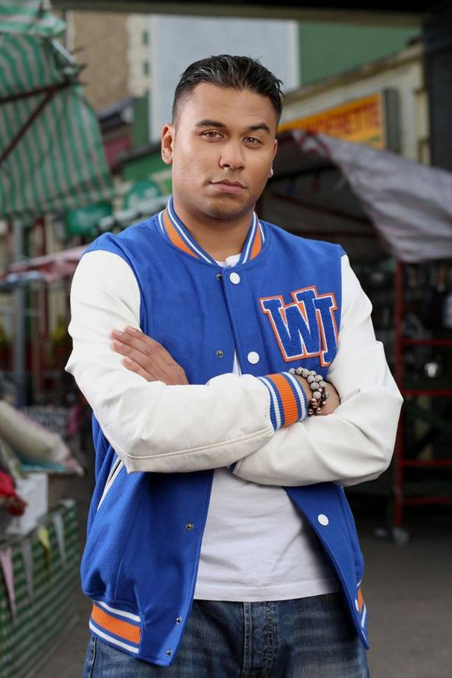 Ricky Norwood as Fatboy in EastEnders (Credit: BBC)