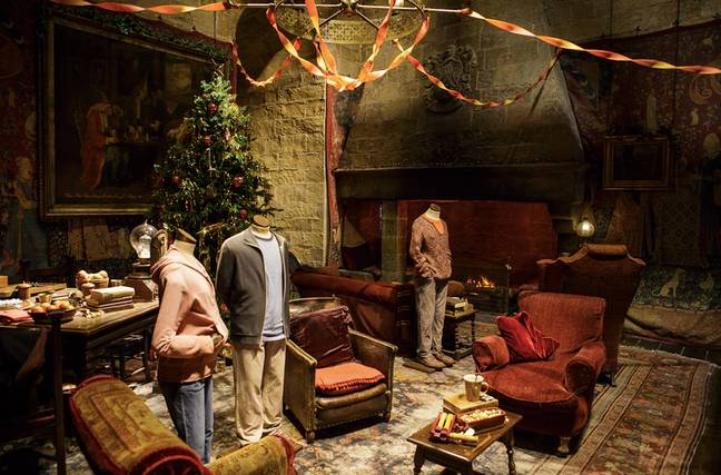 Fans will be able to meander round the Gryffindor common room (Credit: Warner Bros Studio)