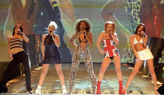 The Spice Girls are the best-selling girl band of all time (Credit: PA)