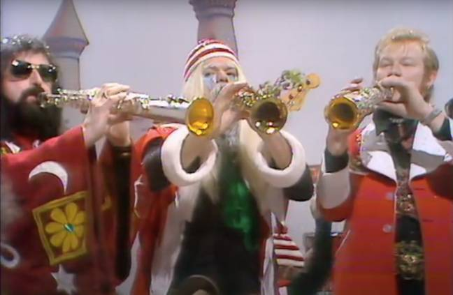 Wizzard's 'I Wish It Could Be Christmas Everyday' came in at the top (Credit: Youtube)
