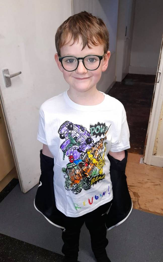 Reuben is now on the mend (Credit: Kennedy News)