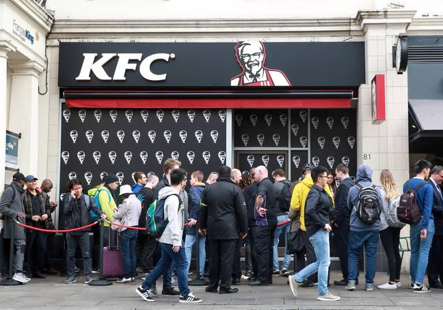 There were big queues to try the Double Down when it launched in 2017 (Credit: PA)