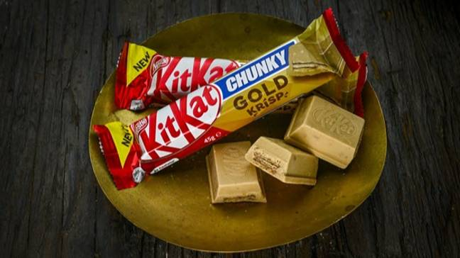 The KitKat Chunky Gold is now available at B&M (Credit: KitKat)