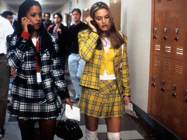 Cher's yellow plaid co-ord is iconic (Credit: Paramount)