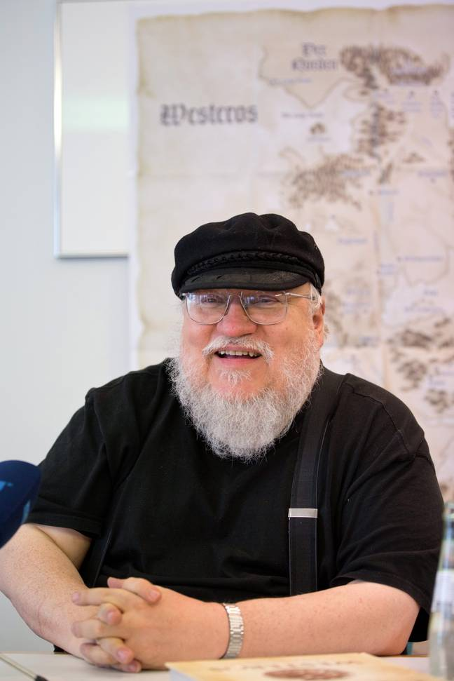George RR Martin says the next book int he franchise will be ready next year (Credit: PA)