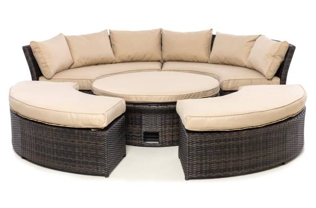 Test out an array of Olivia's daybeds  - and get paid for it! (Credit: Olivia's)