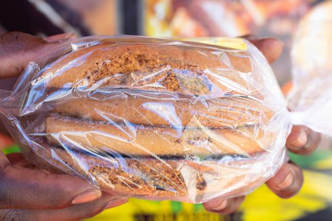 Non-biodegradable cling film is normally made from polyvinyl chloride (PVC) (Credit: Unsplash)