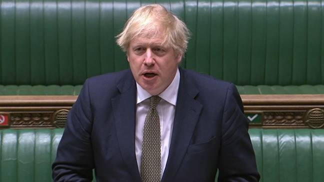 Boris made the comment in Prime Minister's Questions (Credit: PA)