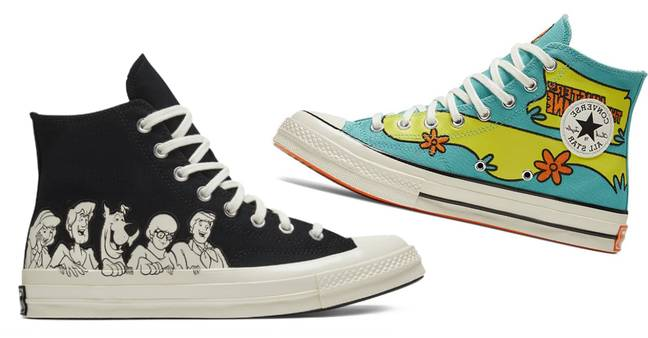 How cute are these Scooby Chuck 70 high-tops? (Credit: Converse)