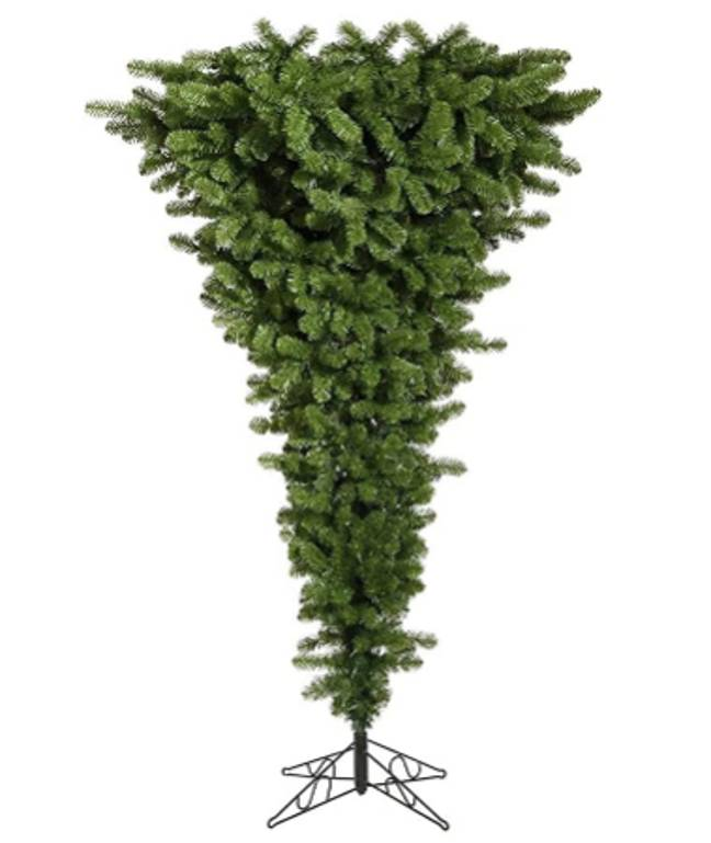 Upside down trees are also available on stands (Credit: Amazon/ TY&WJ)