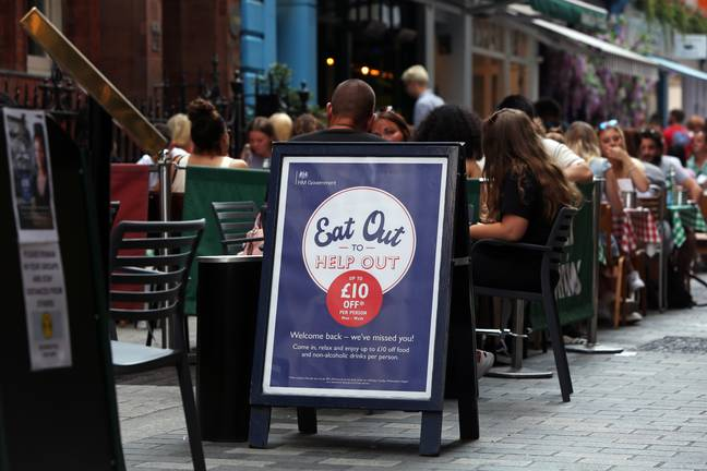 Hungry diners have claimed over 100 million discounted meals via the scheme to date (Credit: PA)