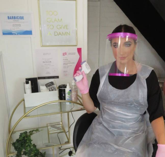 Zoe Kennedy owns a salon in Hemel Hempstead, Hertfordshire (Credit: Zoe Kennedy/ Handout)