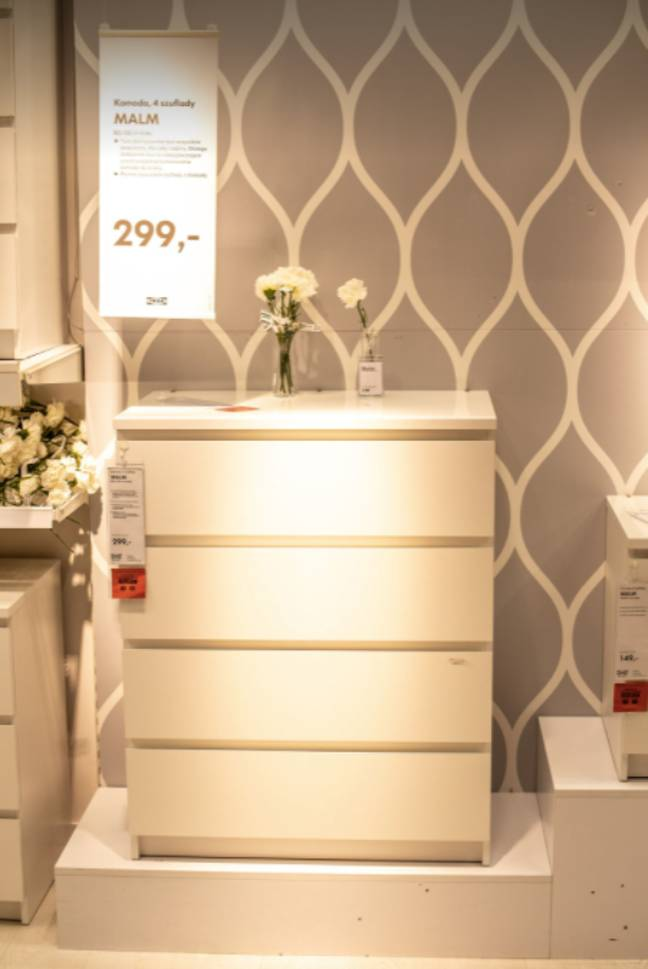 Customers will be able to return old dressers and furniture to their local store (Credit: Shutterstock)
