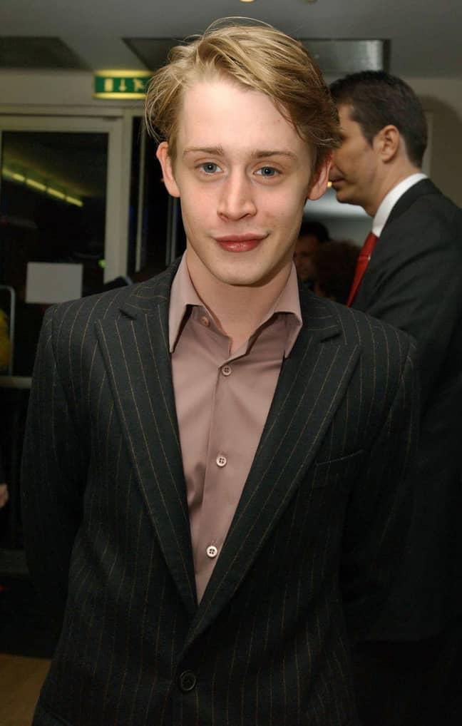 Macaulay Culkin in 2002 (Credit: PA)