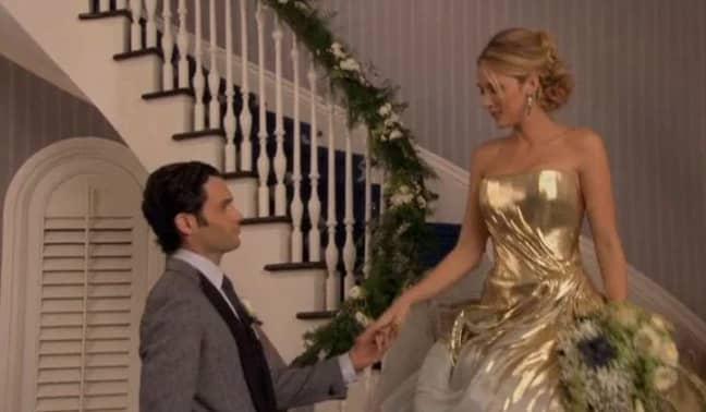 In the series finale Dan Humphreys aka Lonely Boy (Penn Badgley) married Serena van der Woodsen (Blake Lively) (Credit: The CW)