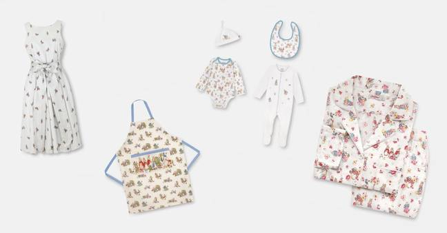 There's heaps to choose from, from clothing to accessories and kids' wear too (Credit: Cath Kidston)