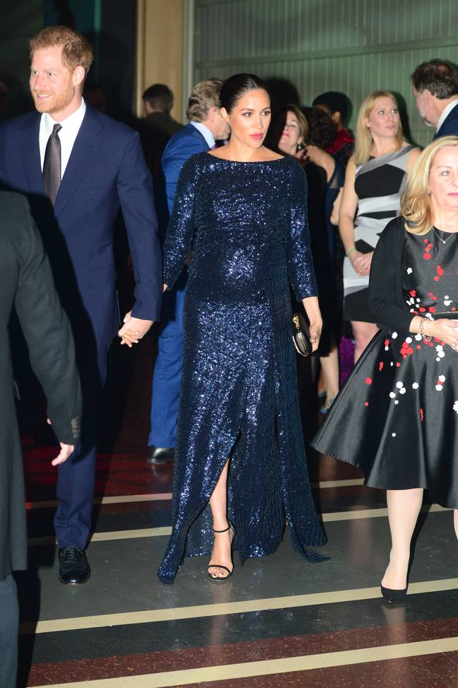 The couple attended an event at the Royal Albert Hall in January 2019 (Credit: PA)