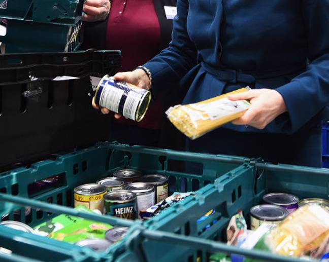 The supermarket is working with local food banks (Credit: PA)