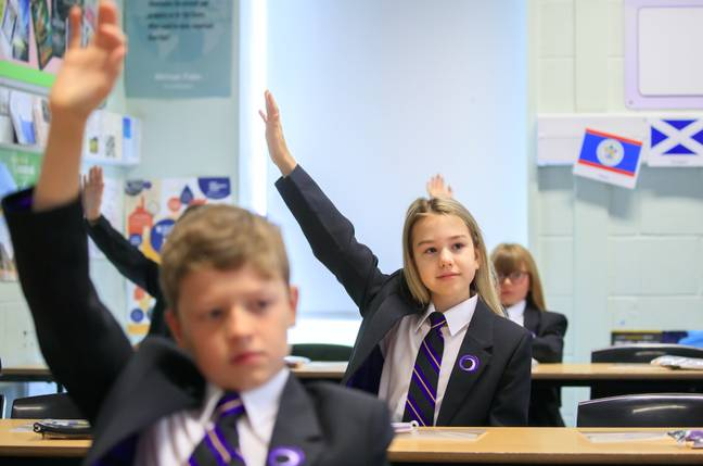Schools could look a lot different to how we're used to (Credit: PA)