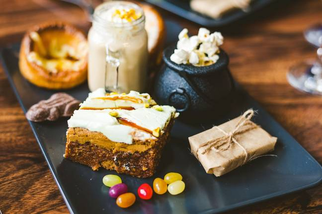 Tuck into a wizard-themed tea with sweet and savoury 'Yorkshire Cauldons', magic beans and butterscotch beer shakes (Credit: The Steel Cauldron)