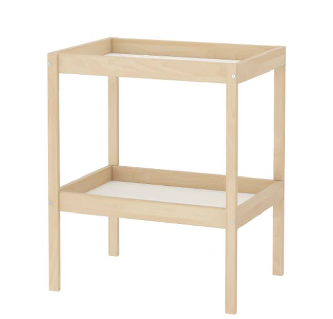 The changing table can be transformed with some DIY (Credit: Ikea)