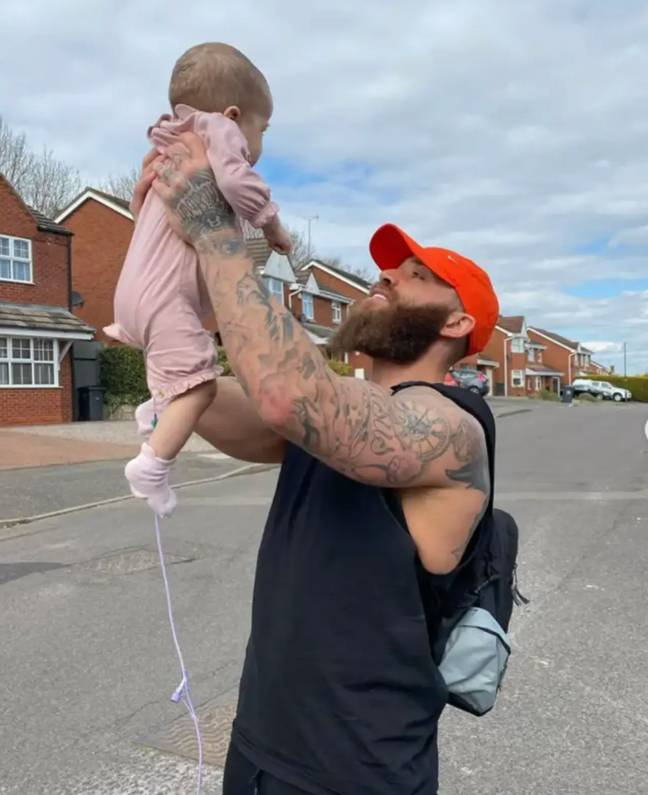 Azaylia passed away last month (Credit: Ashley Cain/ Instagram)