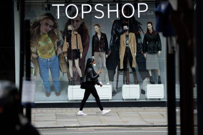 Topshop is just one of the high street brands owned by Arcadia (Credit: PA)