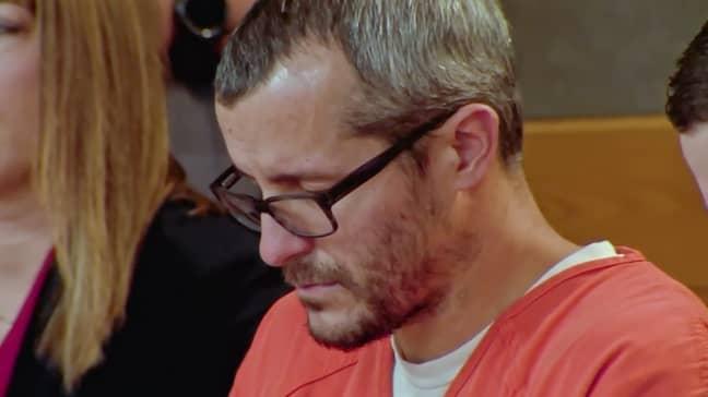 Chris Watts was sentenced to three life sentences (Credit: Netflix)