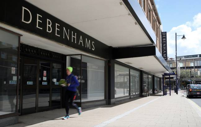 It's believed the majority of Debenhams' staff have been furloughed (Credit: PA)
