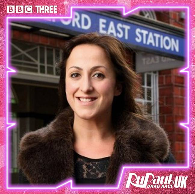 Are you ready for Natalie Cassidy on Drag Race? (Credit: Drag Race UK/ Instagram)