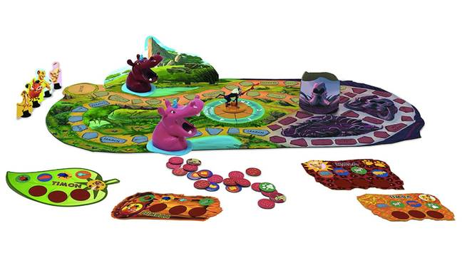 Collect all four tokens as you play the game (Credit: Cardinal Games/Disney)