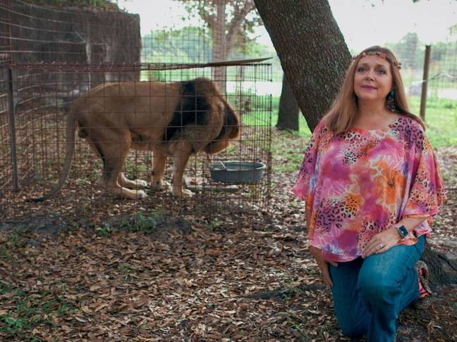 Carole Baskin wants to put the animals at the centre of the story (Credit: Netflix)