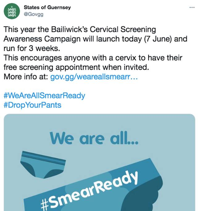 The smear campaign has received criticism since it dropped online (Credit: Twitter)