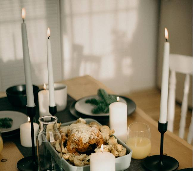 Turkey is often the main dish for Christmas dinners around the world (Credit: Pexels)