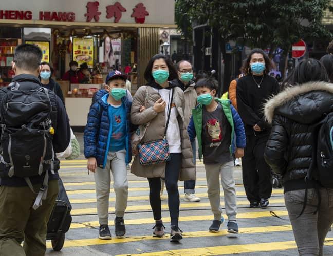 The virus originated in Wuhan, China (Credit: PA)