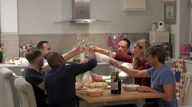 The show sees a woman invite five men into her home (Credit: Channel 4)