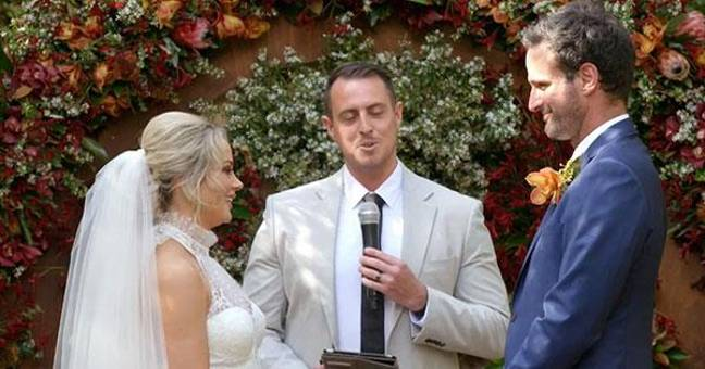 Jessika and Mick in Married At First Sight Australia series 6 (Credit: Channel Nine)